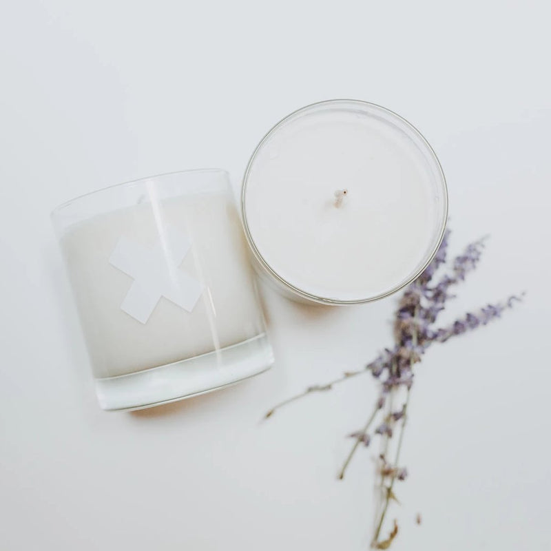 whiskey tumbler candle