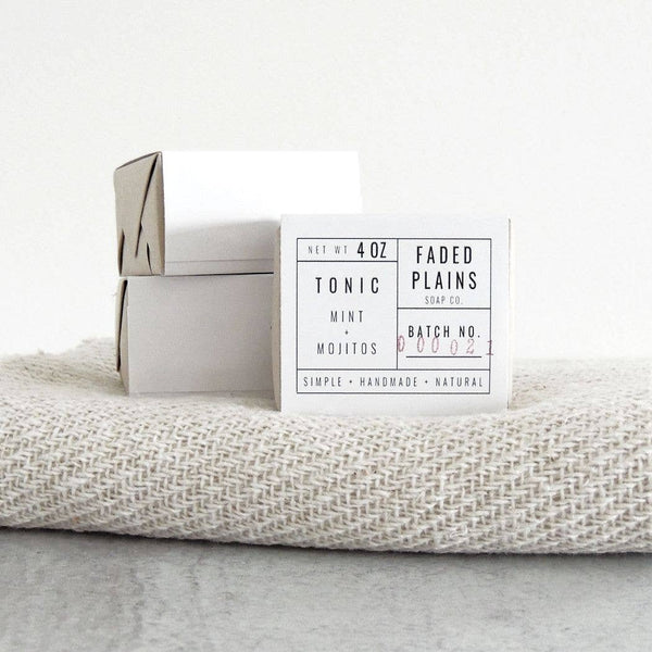 Faded Plains Soap - Tonic