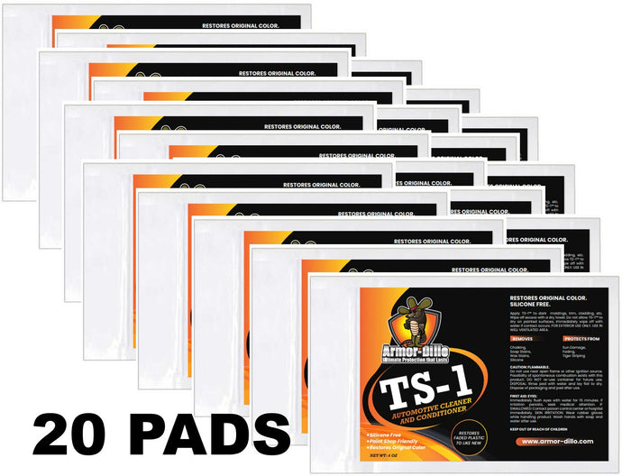 Armor-Dillo TS-1: 20 Pads (BEST DEAL)