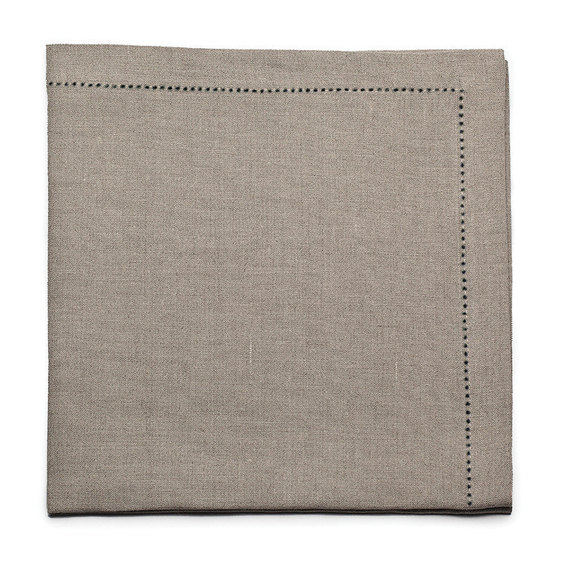 Pure Large Napkin with Button Stitch - Natural