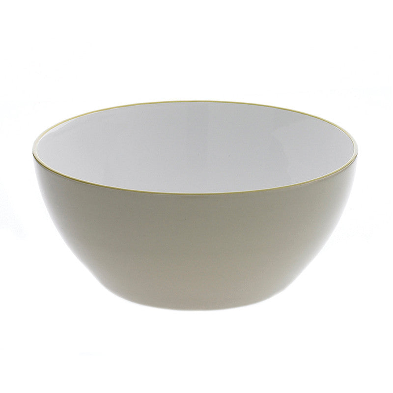 Ullu Stoneware Large Serving Bowl - Green