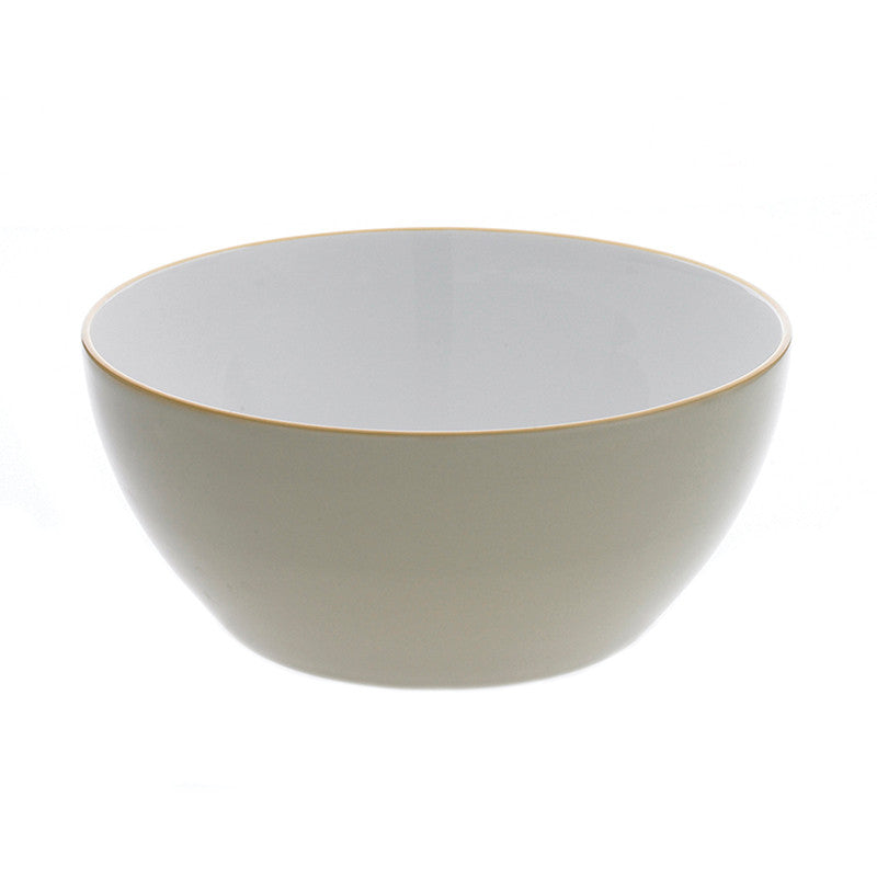 Ullu Stoneware Large Serving Bowl - Yellow | Teroforma