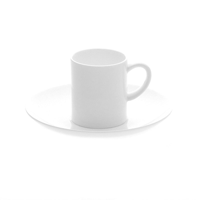 Oyyo White Small Cup & Saucer