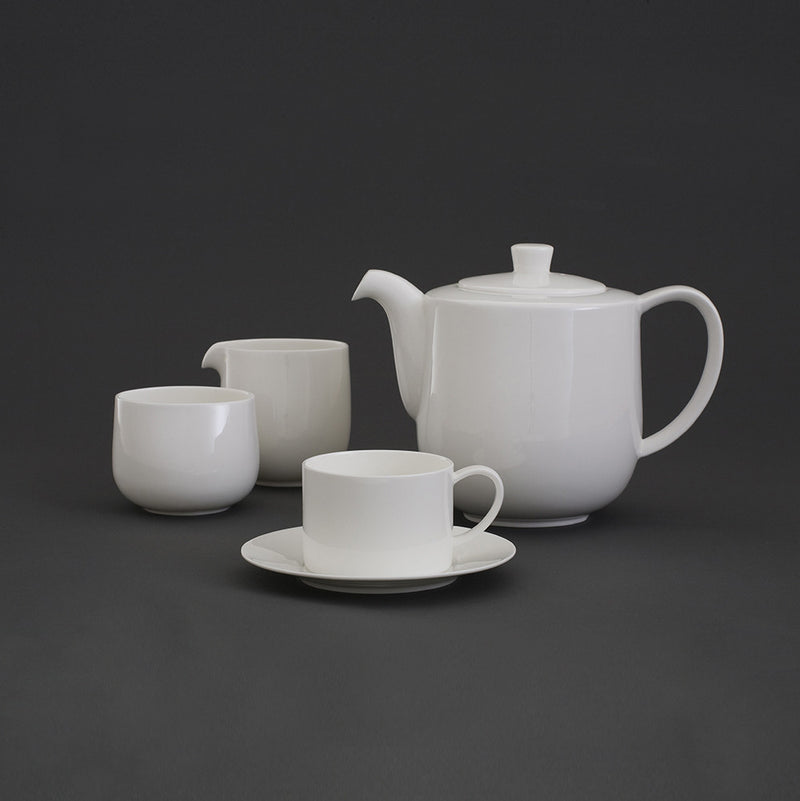 Oyyo White Cup & Saucer