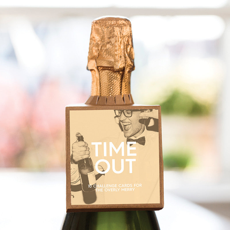 Bottleneck Mini™ Gift Tag - Time Out