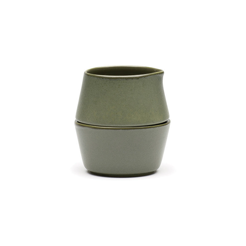 Avva Pinch&Pour™ Bowls - Olive Green