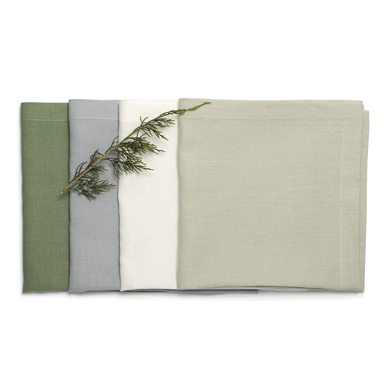 Pure Linen Large Napkin - Assorted