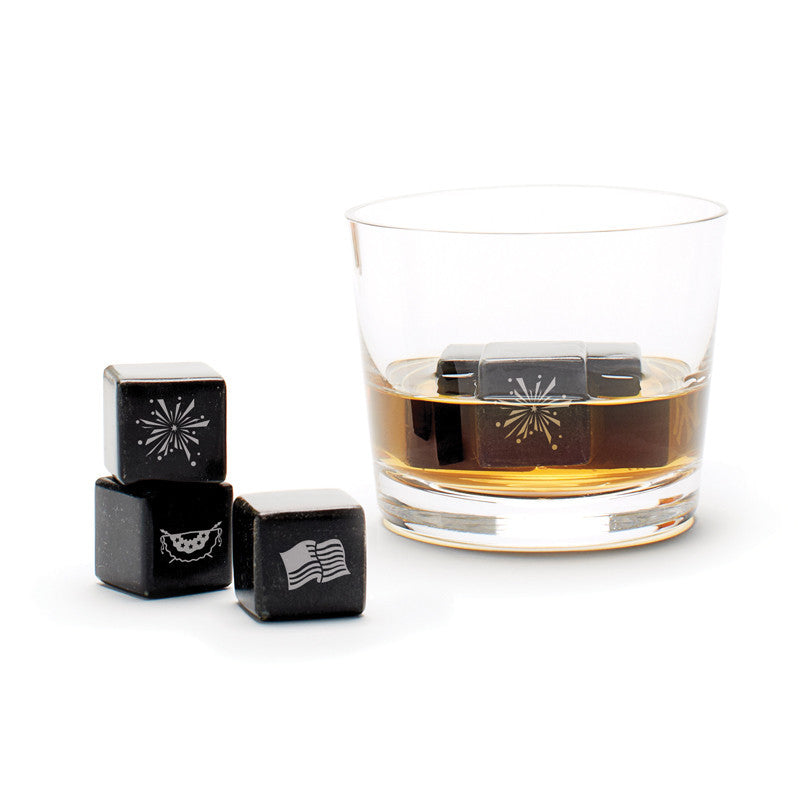 Whisky Stones Icon - 4th of July