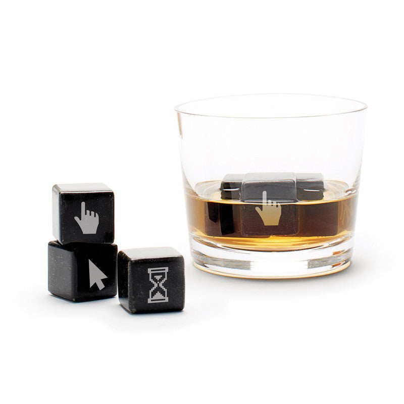 Whisky Stones Icon - Geeky