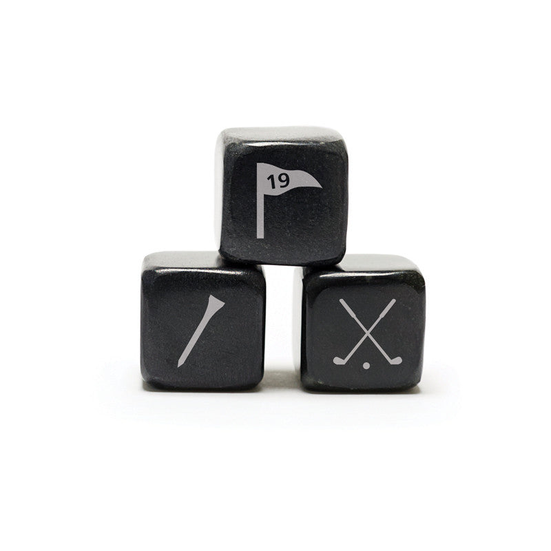 Whisky Stones Icon - Golf