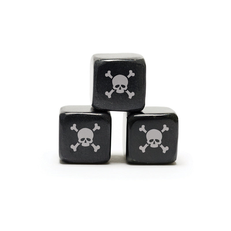 Whisky Stones Icon - Skull & Crossbones