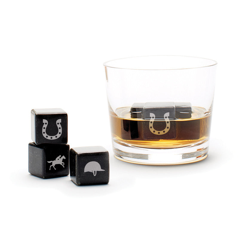 Whisky Stones Icon - Horse Racing