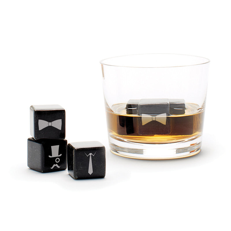 Whisky Stones Icon - Gentleman
