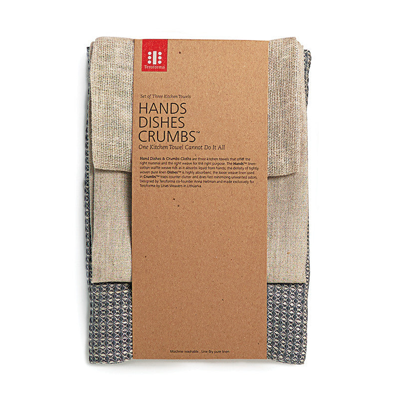 Hands Dishes Crumbs™ - Slate Gray Blend