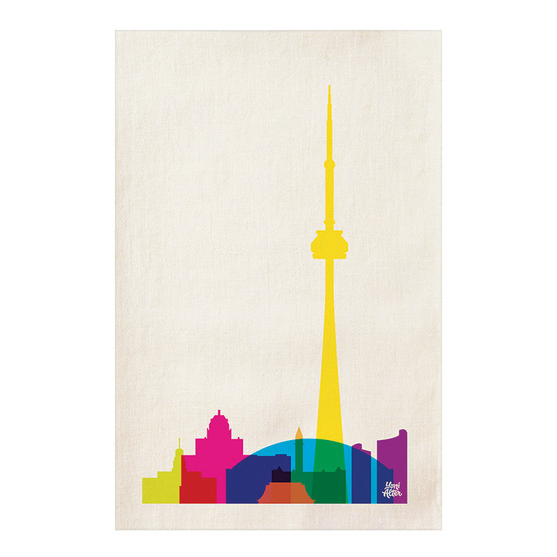 Tea Towel, City Shapes - Toronto