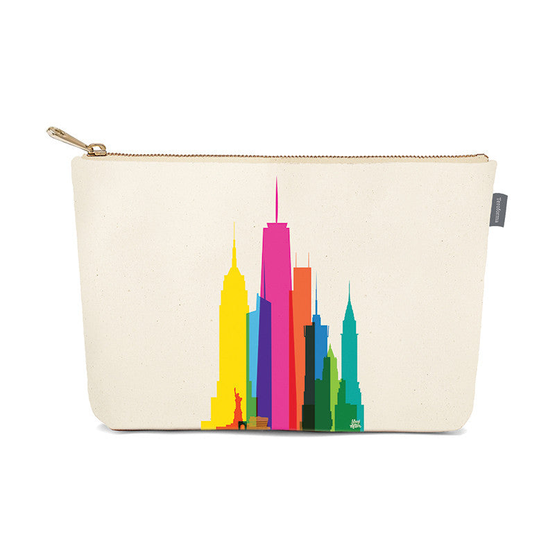 Pouch, City Shapes