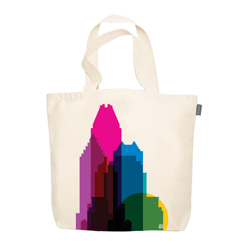 Tote Bag, City Shapes - Montreal