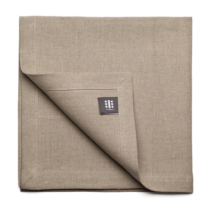 Pure Linen Large Napkin - Flax