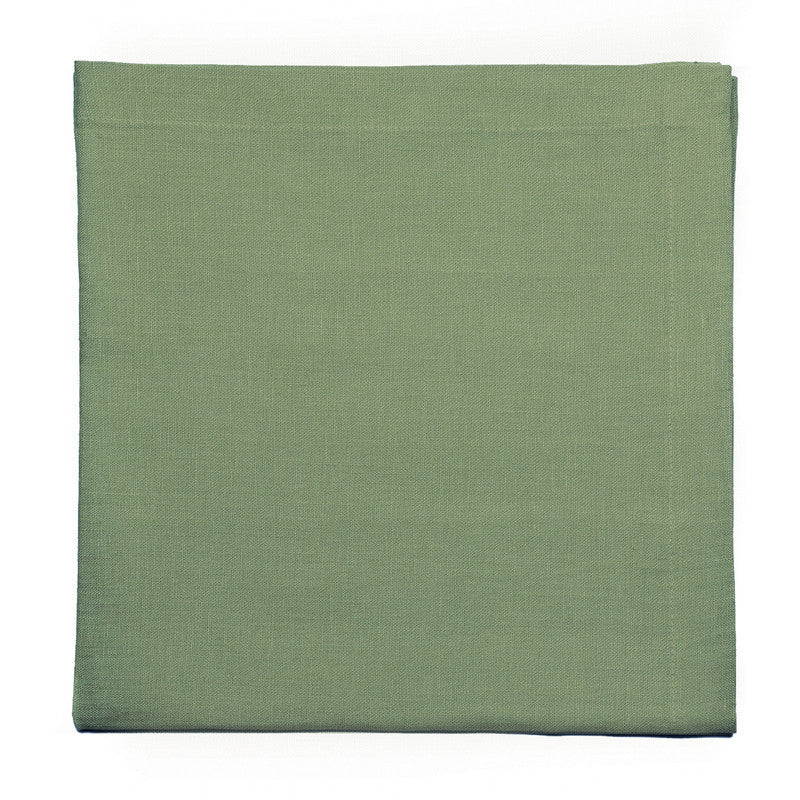 Pure Linen Large Napkin - Meadow Green