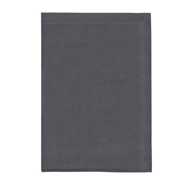 Pure Linen Cross Runner - Slate Gray | Teroforma
