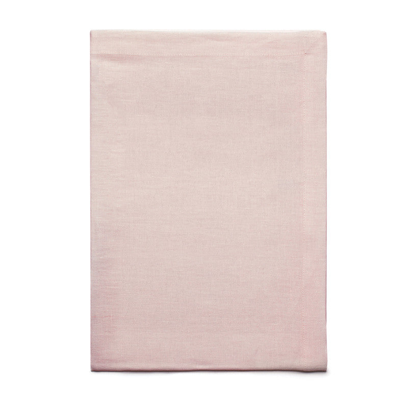 Pure Linen Cross Runner - Antique Rose | Teroforma