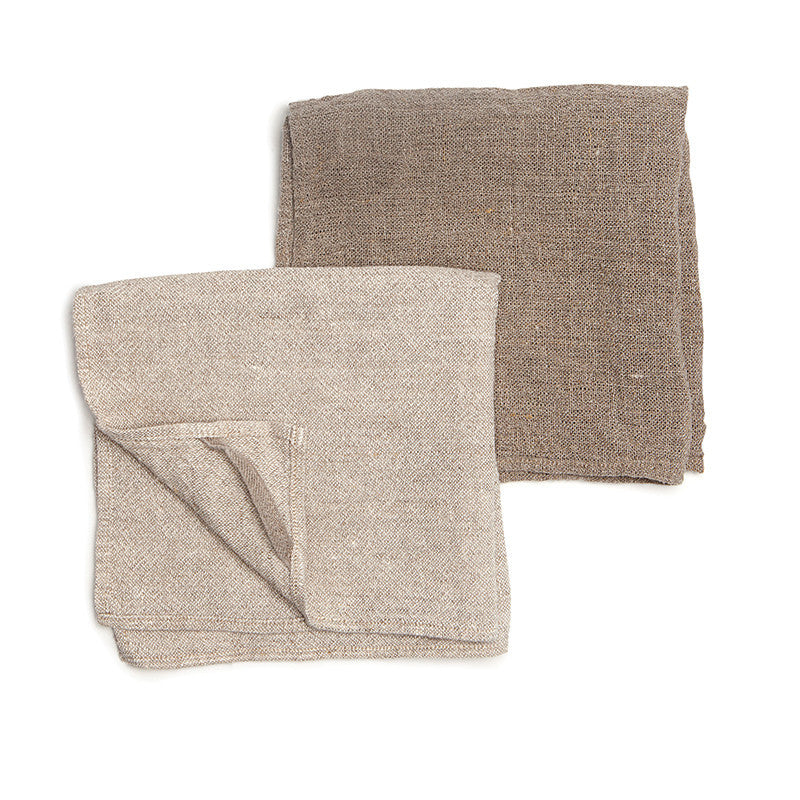 Neat&Clean Kitchen Cloths - Soft White & Flax