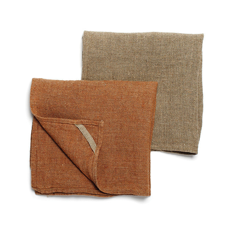 Neat&Clean Kitchen Cloths - Cinnamon Brown & Flax