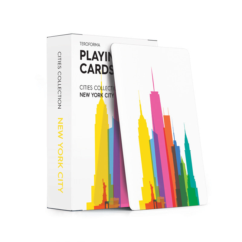 Playing Cards, City Shapes - New York City