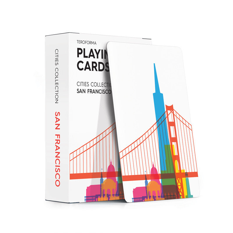 Playing Cards, City Shapes - San Francisco