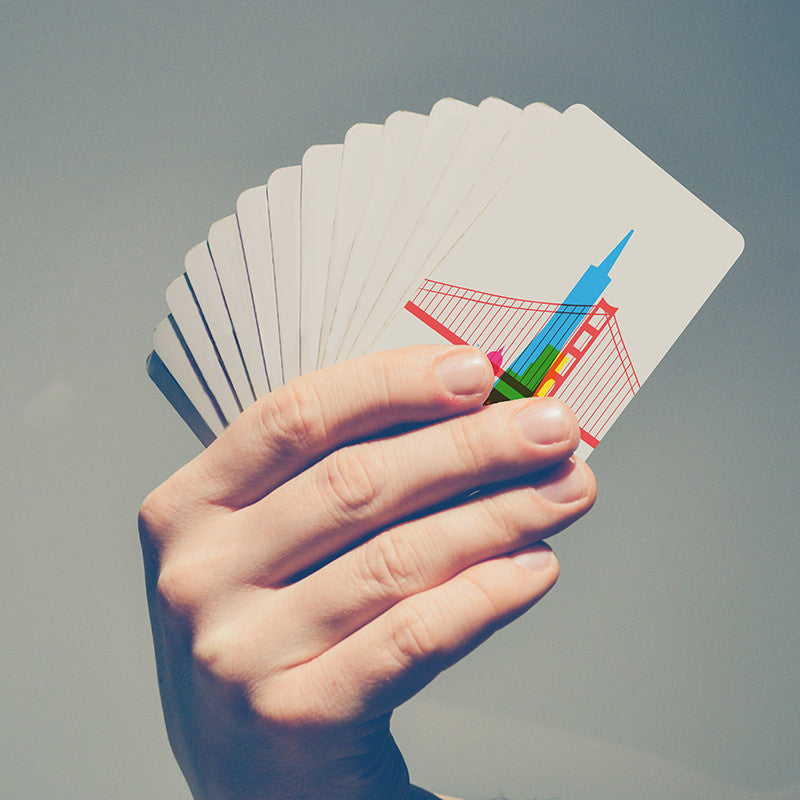 Playing Cards, City Shapes