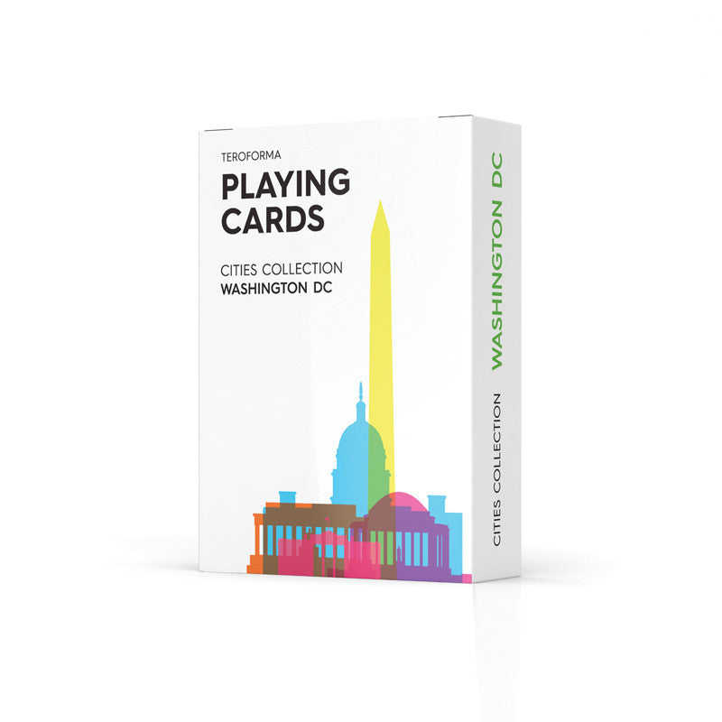 Playing Cards, City Shapes - Washington DC