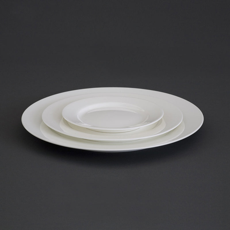Avva White Medium Plate | Teroforma