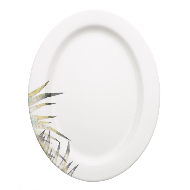 Avva Fern Large Serving Plate