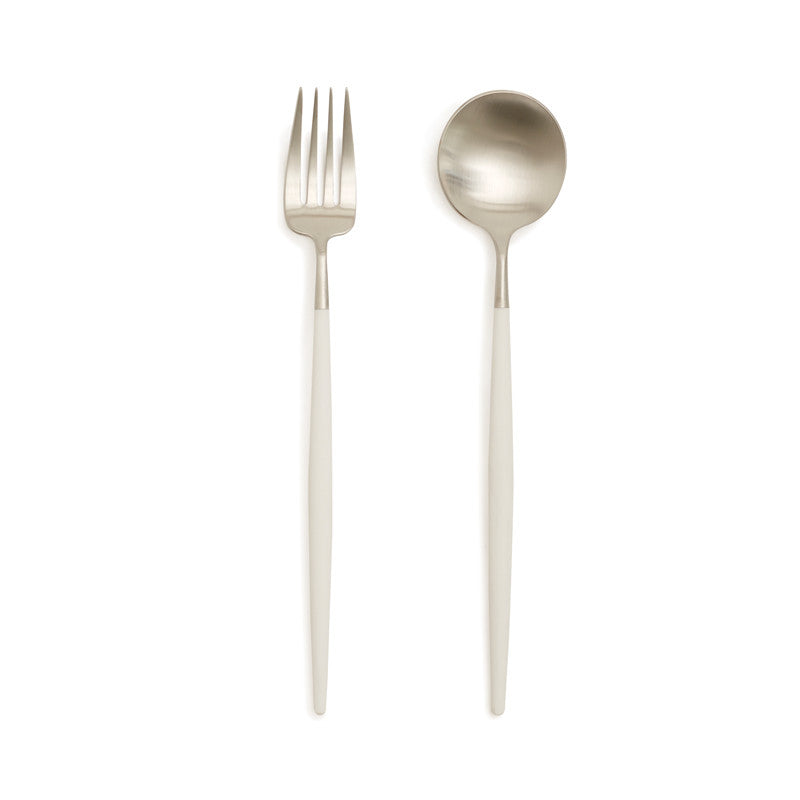 Lolo Brushed Serving Set | Teroforma