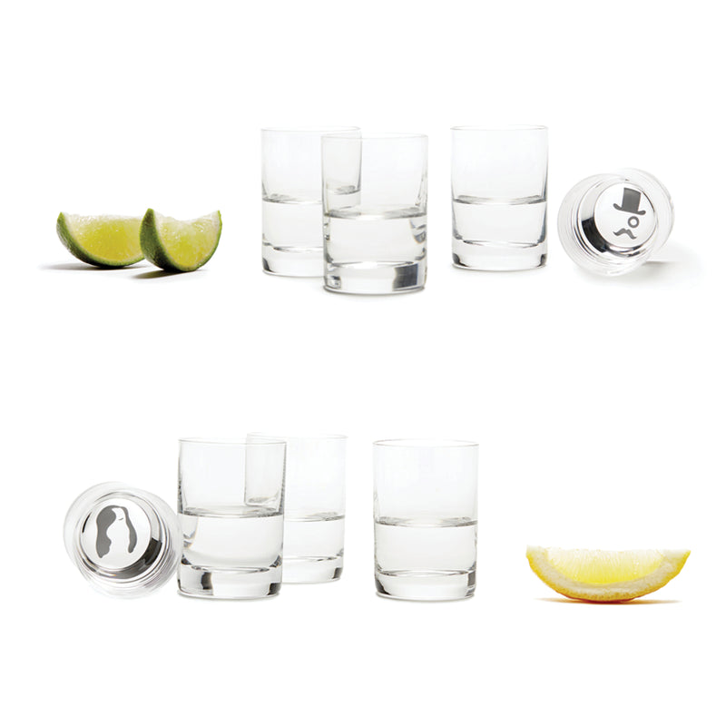 ICON Bottoms Up Shot Glasses | Teroforma