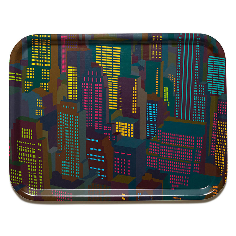 Cocktail Tray (Large) - Cities Evening