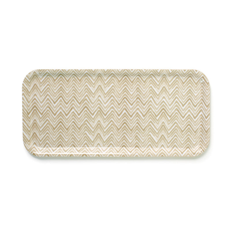 Chevron Trays Tan | Teroforma