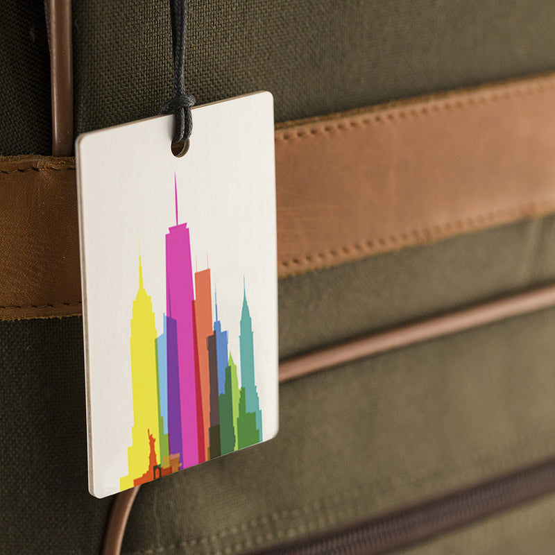Luggage Tag, City Shapes - New York City