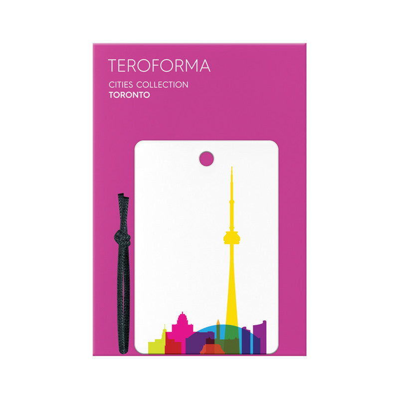Luggage Tag, City Shapes - Toronto
