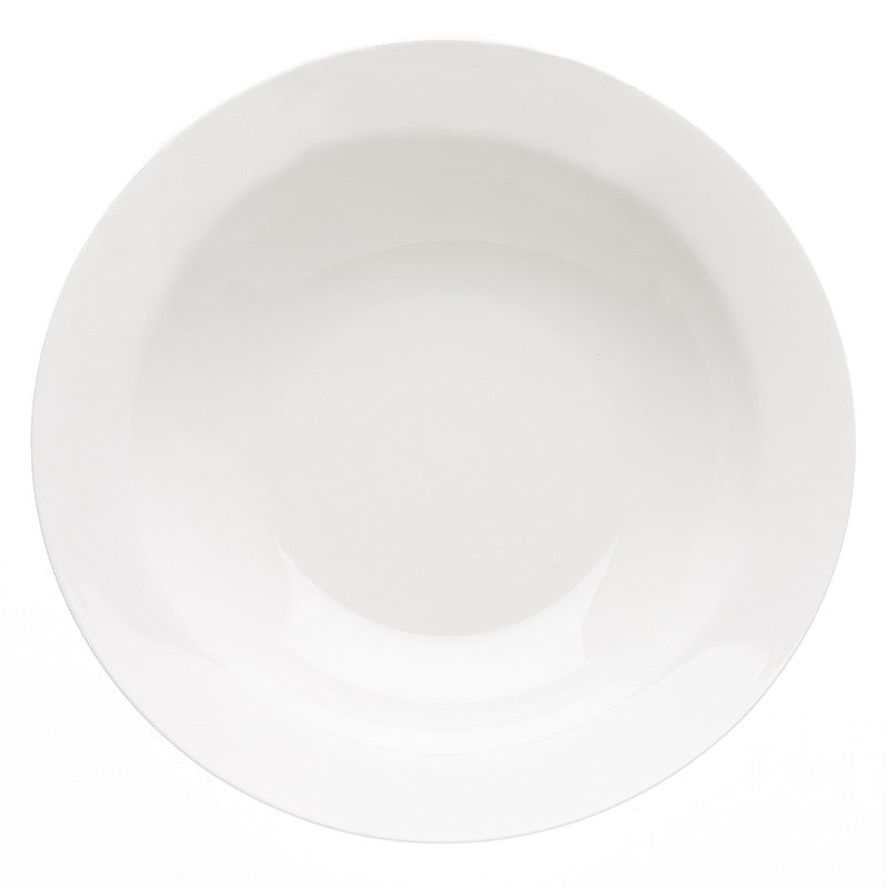 Avva White Large Serving Bowl