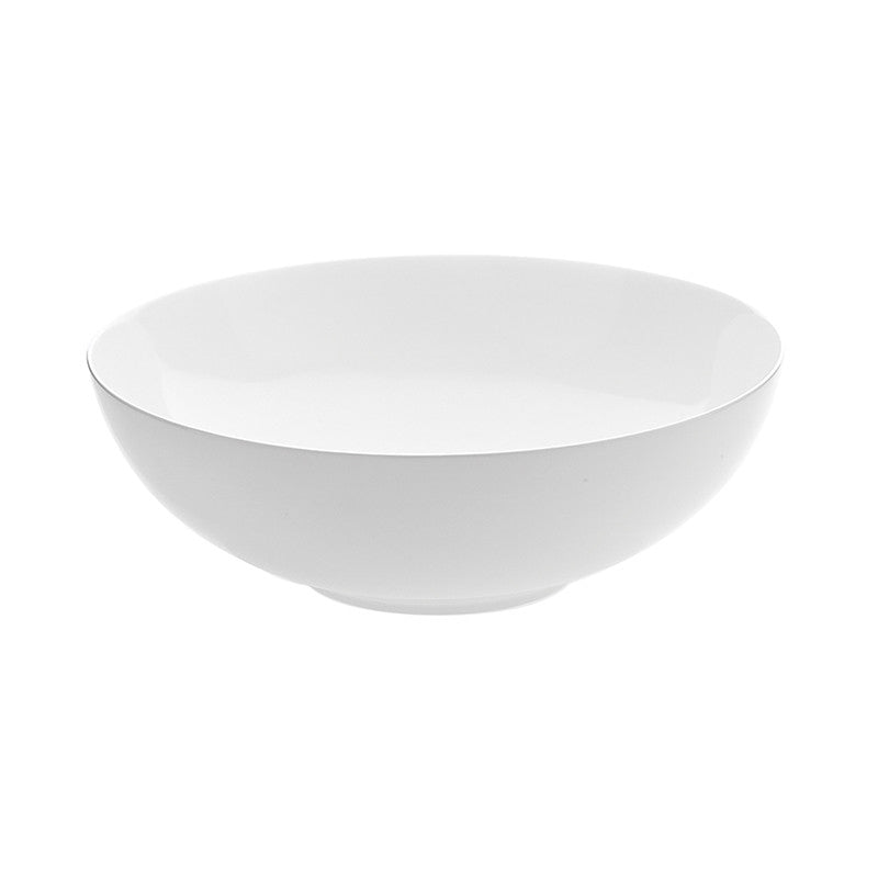 Oyyo White Large Serving Bowl