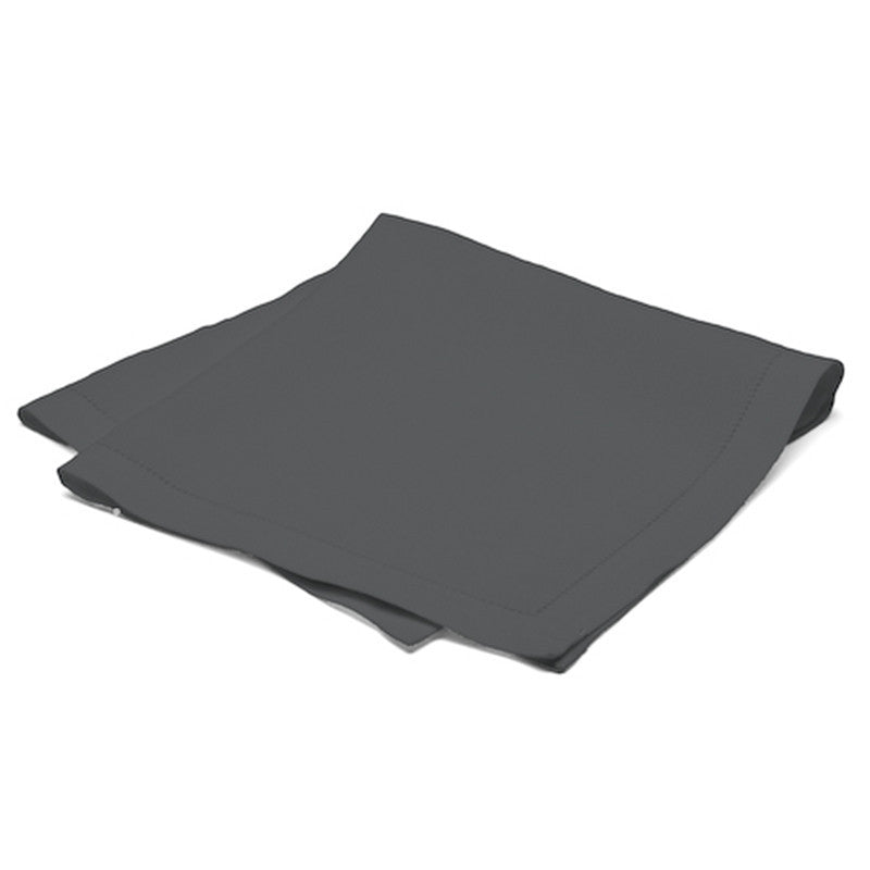 Pure Large Napkin with Button Stitch - Slate Gray