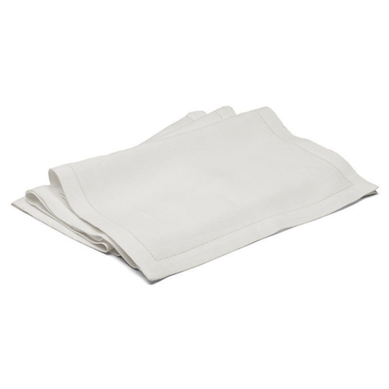 Long Table Runner - Button Stitch - Soft White | Teroforma
