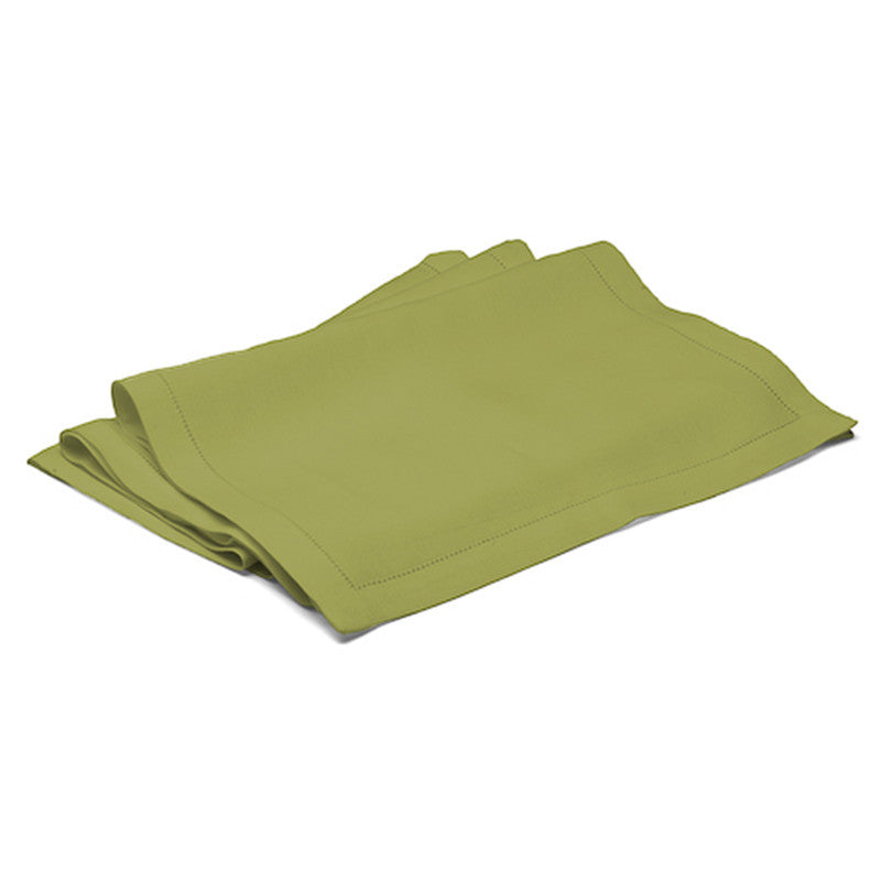Long Table Runner - Button Stitch - Meadow Green  | Teroforma