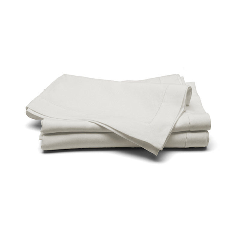 Large Linen Tablecloth (Button Stitch) - Soft White | Teroforma