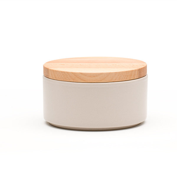 Ekke Medium Tapas Bowl + Lid - Chalk White