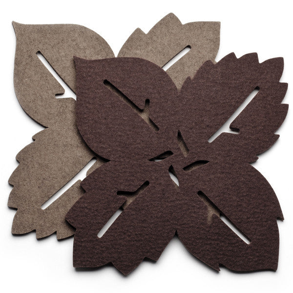 Arbor Trivet | Rich Brown / Soft Brown | Teroforma