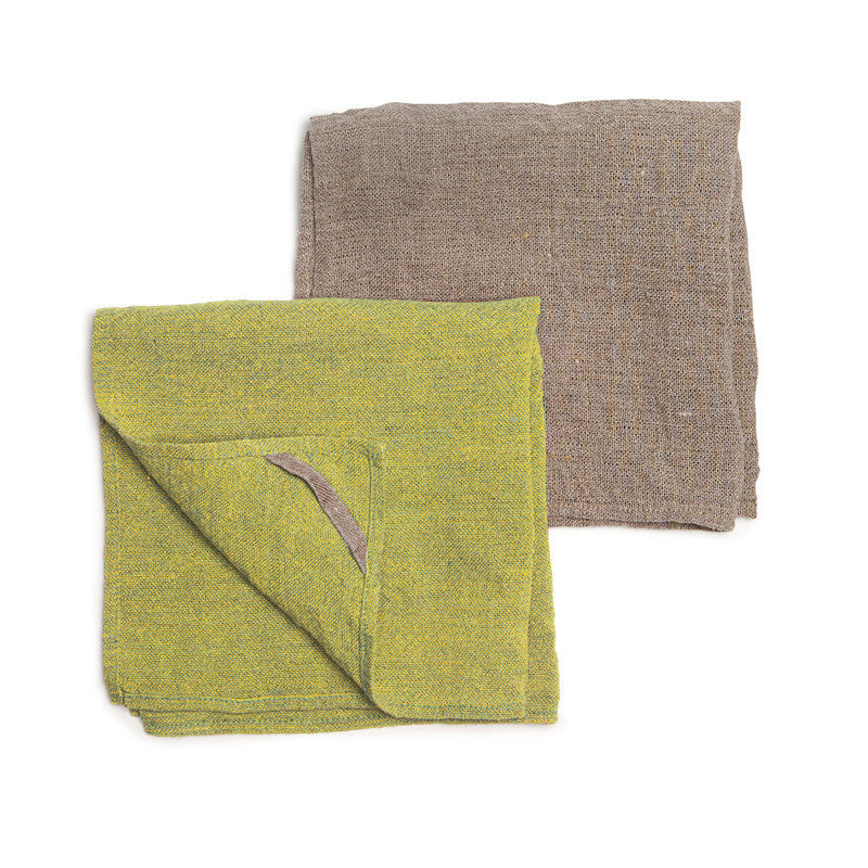 Neat&Clean Kitchen Cloths - Lemon Yellow & Flax