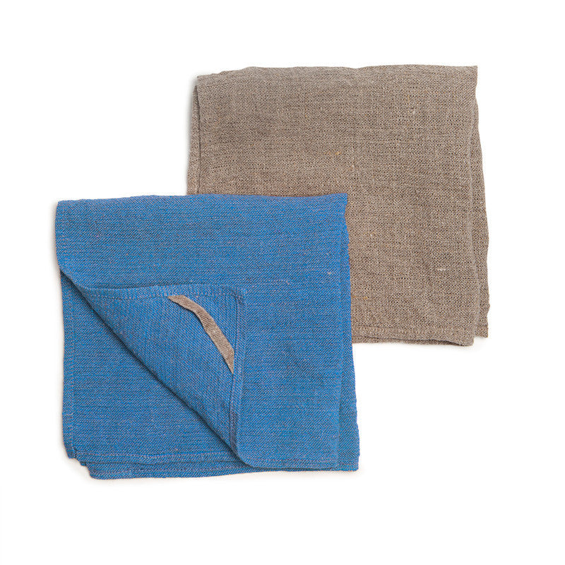 Neat&Clean Kitchen Cloths - Sapphire Blue & Flax