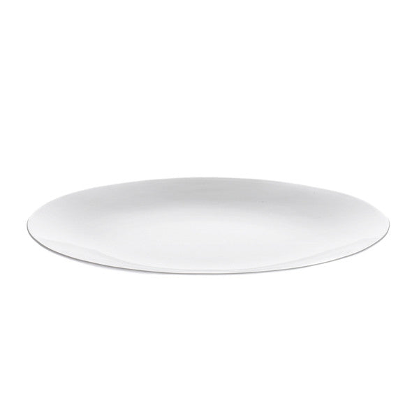 Oyyo White Large Oval Serving Plate